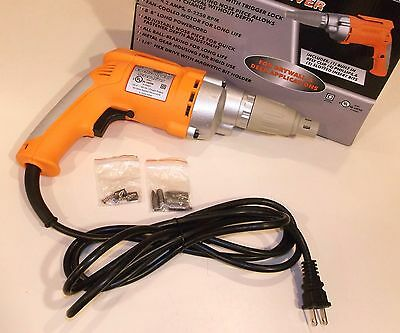 Heavy Duty Electric Drywall and Decking Screwdriver, NEW