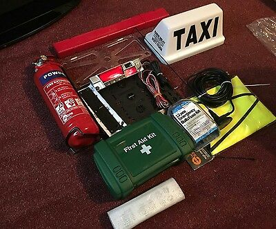 taxi start up kit and comes with a digitax f2 meter