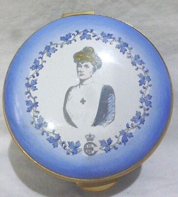 Contemporary SISTER AGNES'S ENAMEL TRINKET BOX by STAFFORDSHIRE ENAMELS