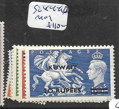 Kuwait (Pp0802B) On Gb   Kgvi Set Sg 84=90  Mog