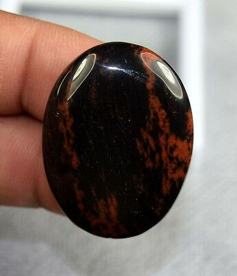 Flawless ! 43.80 Cts. 100 % Natural Mahogany Obsidian Oval Cab Loose Gemstones