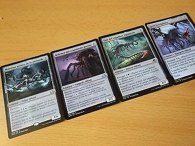 Magic the Gathering - Lote 4 cartas eldrazi - Luna de Horrores