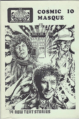 Doctor Who Fanzine - Cosmic Masque Issue 10 - 1985 - Superb Condition