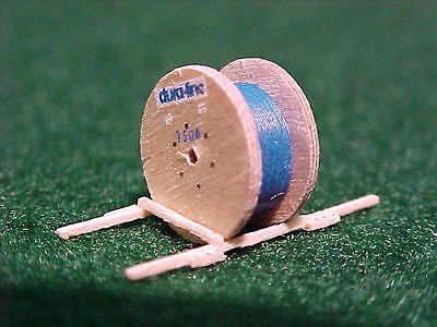 (2) NEW CABLE SPOOLS w/ BLUE CABLE Load  #14307