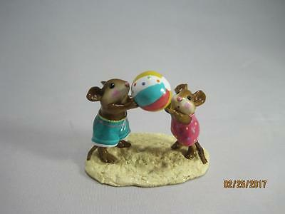 Wee Forest Folk Having a Ball - Limited Edition 2003 - in WFF Box