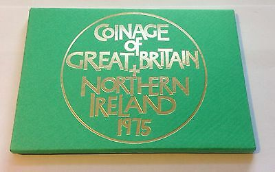 1975  Royal Mint Coinage Of Great Britain And Northern Ireland Set #b