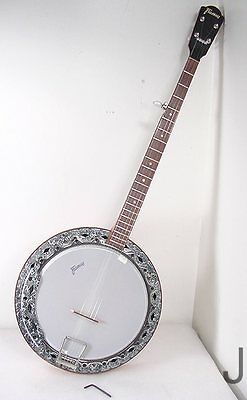 Vintage Framus 5 Five String Resonator Banjo Just Set Up Very Nice Nashville