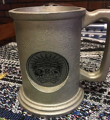 1995 Panthers vs Jaguars Inaugural Pro Football HOF Game Pewter Mug Very Rare