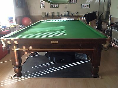 Orme And Sons Full Size Snooker Table