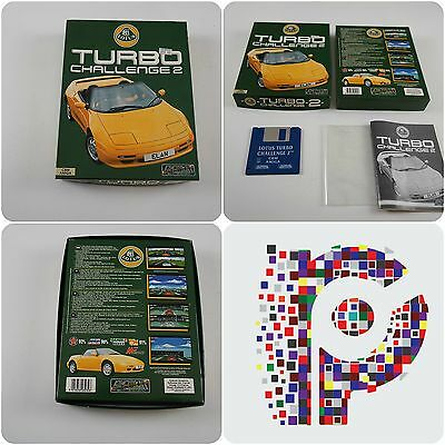 Lotus Turbo Challenge 2 A Gremlin Game for the Commodore Amiga tested & working