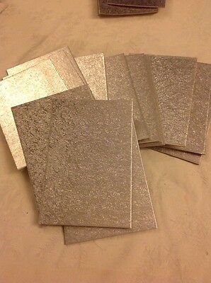 "6x4"" Inch Rectangular cut edge THIN Cake Boards Cards SILVER Sugarcraft X 18"