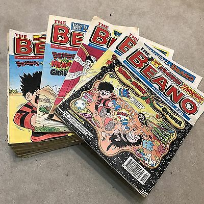52 x 1996 Beano Comics - the full year complete