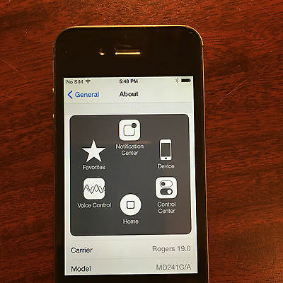 iPhone 4s 32GB  Black Works BUT...read
