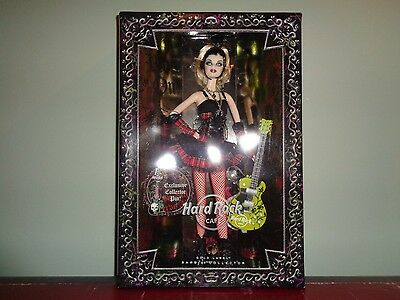2008 Hard Rock Cafe Barbie Gold Label Limited Edition of 13,200 Worldwide NRFB
