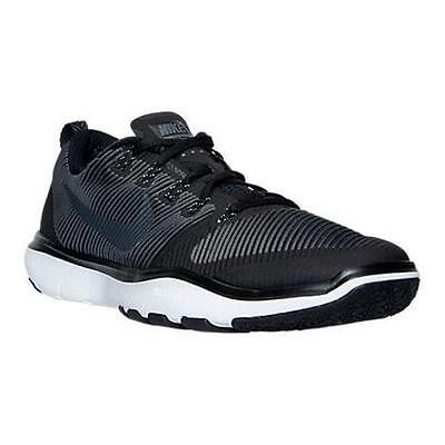 833258 001 NIKE FREE TRAINER VERSATILITY Men's Shoes Black/White MSRP $100 NIB