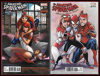 Amazing Spider-Man Renew Your Vows #1 #2 Nm/m Campbell 1:50 1:25 Variant Set Hot