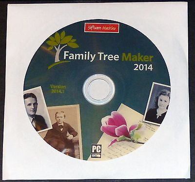Family Tree Maker 2014.1 Mackiev (The 2016/2017 updated version of 2014 Deluxe)