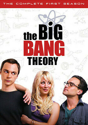THE BIG BANG THEORY Complete First Season DVD, 2008 3-Disc Set NEW Free Shipping