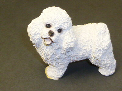 Stone Critters BICHON FRISE  DOG Resin Figurine/animals/dogs
