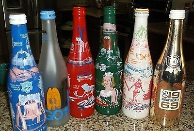 (6) ABCB & NSDA Convention Bottles  1960's & 1970's