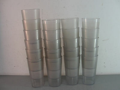 ✨ Cambro Plastic Beverage Tumbler Commercial Break Resistant Foodservice Lot 20