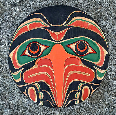 Northwest Coast BC Canada First Nations Indigenous Art Cedar THUNDERBIRD Carving