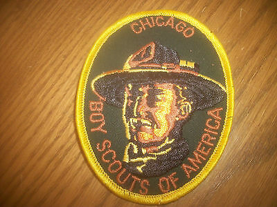 N Vintage Chicago Boy Scout Patch