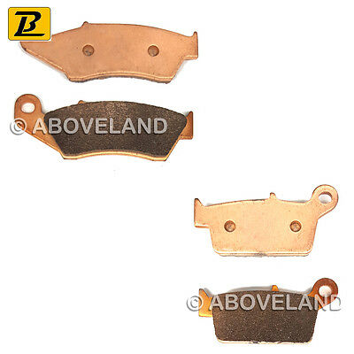 FRONT REAR Sintered Brake Pads for YAMAHA YZ 125 2T 2003-2004 2005 2006 2007
