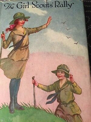 Vintage Girl Scout The Rally Series Volume 2 of 3 stories  hardcover  1921