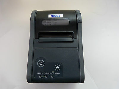 Epson TM-P60 TMP60 M196A WiFi Thermal Receipt Label Printer, No Charger