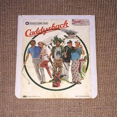 CED Videodisc Caddyshack Movie CHEVY CHASE  BILL MURRAY
