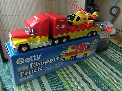 1999 Getty Truck / Chopper 6th in A series toy/collectibles