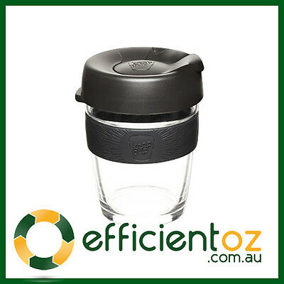 Glass Keep Cup KeepCup - Brew - Reusable Barista Grade Eco Coffee Cup BLACK