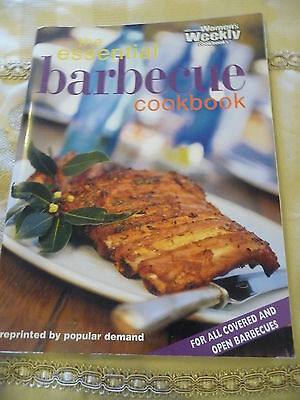 Womens Weekly cookbook THE ESSENTIAL BARBECUE COOKBOOK EUC