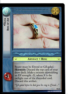 LOTR 9R23 FOIL Vilya Ring of Air TCG CCG Lord of the Rings Trading Cards