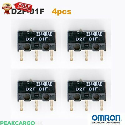 Omron Qty 4 OMRON D2F-01F Micro Switch Microswitch SPDT Subminiature RAZER Kinzu