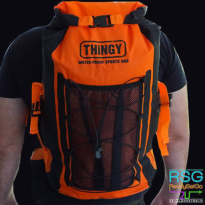 thingy Orange 20L Waterproof Outdoor Camping Fishing Hiking Sports bag backpack