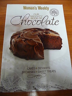 Womens Weekly OUR NAUGHTY BOOK OF CHOCOLATE Mini Cookbook EUC