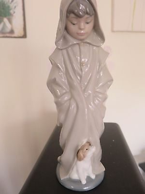 Nao by Lladro boy with dog