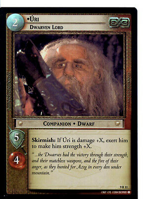 LOTR 9R11 FOIL Uri Dwarven Lord  TCG CCG Lord of the Rings Trading Card