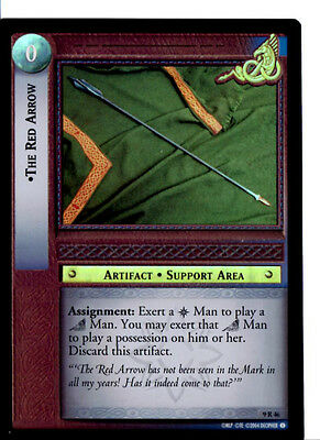 LOTR 9R46 FOIL The Red Arrow TCG CCG Lord of the Rings Trading Card