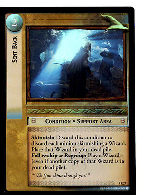 LOTR 9R27 FOIL Sent Back TCG CCG Lord of the Rings Trading Card