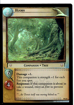 LOTR 9R25 FOIL HUORN TCG CCG Lord of the Rings Trading Card