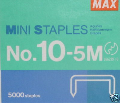 5000 Mini Staples *Fits Swingline Tot 50 Mini Staplers*