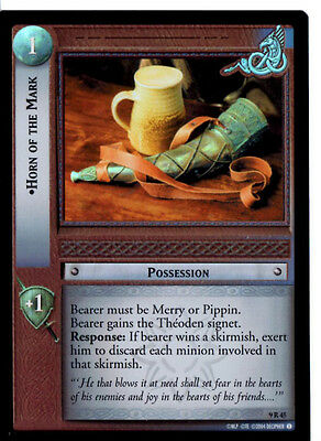 LOTR 9R45 FOIL Horn of The Mark  TCG CCG Lord of the Rings Trading Card