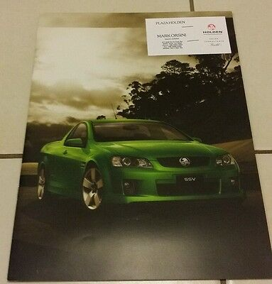 Holden VE Commodore Ute Sales Brochure 32 pages