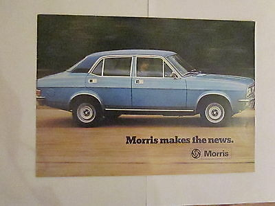 Morris Brochure, circa 1973 (Mini, Marina, Princess)