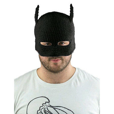 Batman - Batman Cowl Knit Beanie (Black) NEW