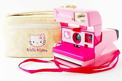 Rare Hello Kitty Polaroid Pink Camera [Excellent] From Tokyo Japan