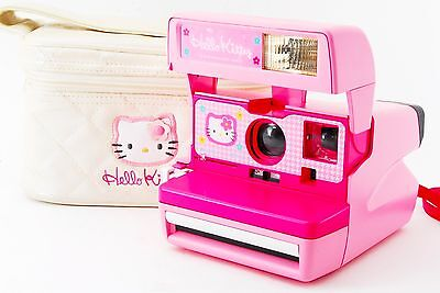Rare Hello Kitty Polaroid Pink Camera [Excellent+] From Tokyo Japan